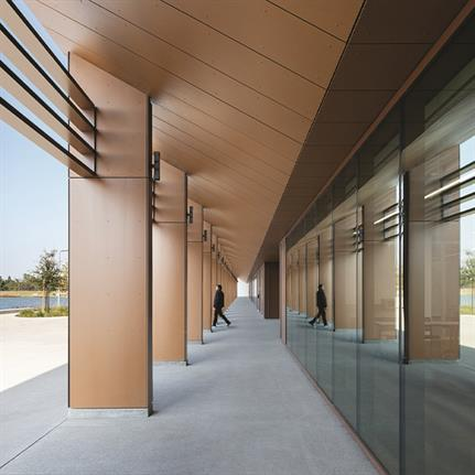 2021 WAN Awards entry: Earvin Magic Johnson Park Event Center - Paul Murdoch Architects