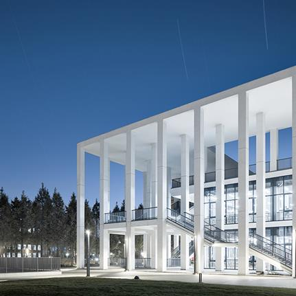 2021 WAN Awards entry: Canteen of Hangzhou Vocational & Technical College - UAD