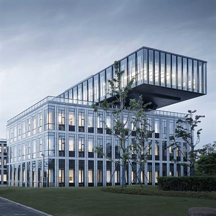 2021 WAN Awards entry: Supporting Office Building for Municipal Maintenance in Qianjiang New Town - UAD