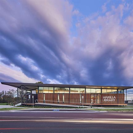 2020 WAN Awards entry: Warilla Library - Brewster Hjorth Architects