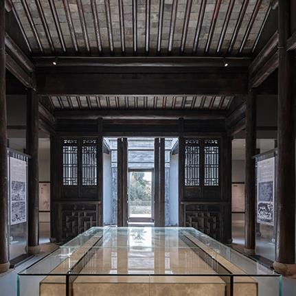 2020 WAN Awards entry: Zhang Yan Cultural Museum - Horizontal Design