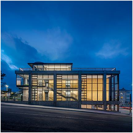 2020 WAN Awards entry: Bechtel Family Center for Ocean Education and Leadership - Monterey Bay Aquarium - Mark Cavagnero Associates