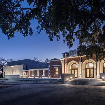 2020 WAN Awards entry: Santa Rosa Junior College Burbank Auditorium - Mark Cavagnero Associates