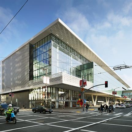 2020 WAN Awards entry: Moscone Center Expansion - Joint effort by Skidmore, Owings, and Merrill (SOM) with Mark Cavagnero Associates (MCA)