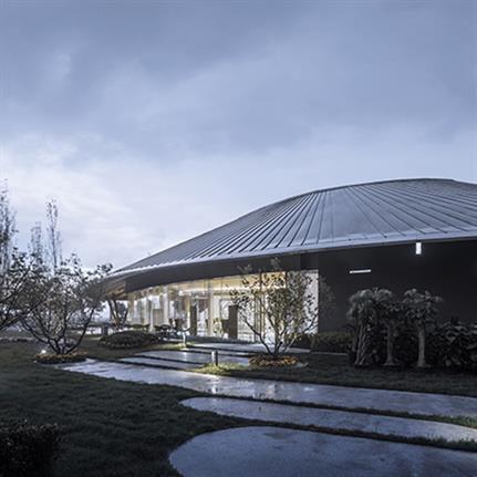 2021 WAN Awards entry: Tianjin Zarsion Exhibition Center - RUF Architects