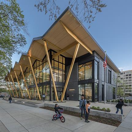 2021 WAN Awards entry: DC Public Library, Southwest Library - Perkins&Will
