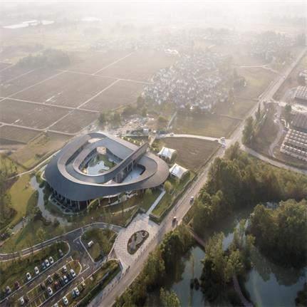 2020 WAN Awards entry: Tongling Recluse,The Chengdu VUE Resort Phase I & The Cropland-loop Resort - RSAA/Büro Ziyu Zhuang