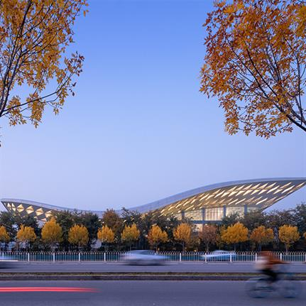 2020 WAN Awards entry: BIT Sports Center - Atelier Alter Architects