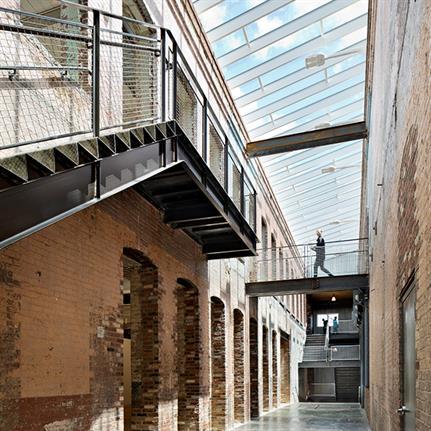 2021 WIN Awards entry: MASS MoCA Building 6: Robert W. Wilson Building - Bruner/Cott Architects