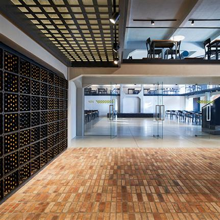 2021 WIN Awards entry: Social Hall in Brewery Kocour - conversion - DOMYJINAK architects