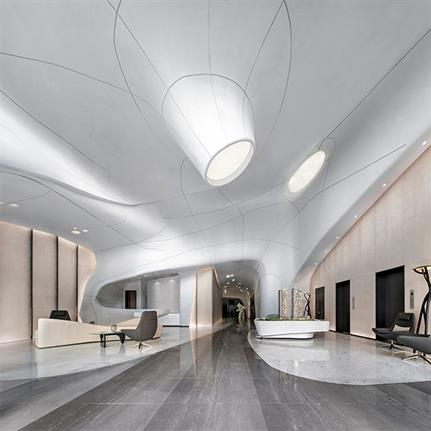 2020 WIN Awards entry: Yunxijinting Cultural Centre - Huge Rock Design