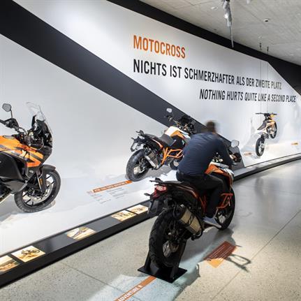 2020 WIN Awards entry: KTM Motohall - Atelier Brueckner GmbH