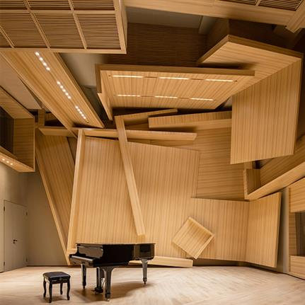 2021 WIN Awards entry: The Violence of Chaos, Meilan Music Studio - DOMANI Architectural Co., Ltd
