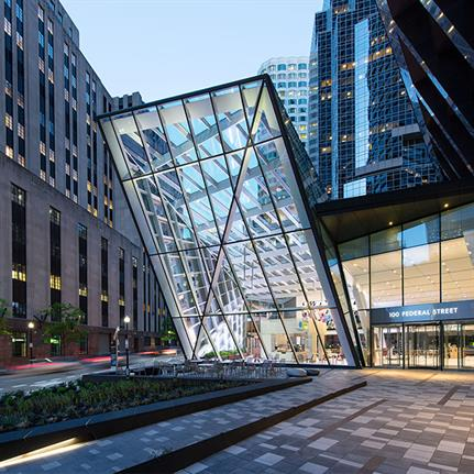 2020 WAN Awards entry: The Exchange at 100 Federal - Perkins and Will