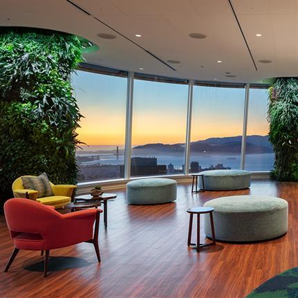 2020 WAN Awards entry: Salesforce Tower, Ohana Floor - Mark Cavagnero Associates