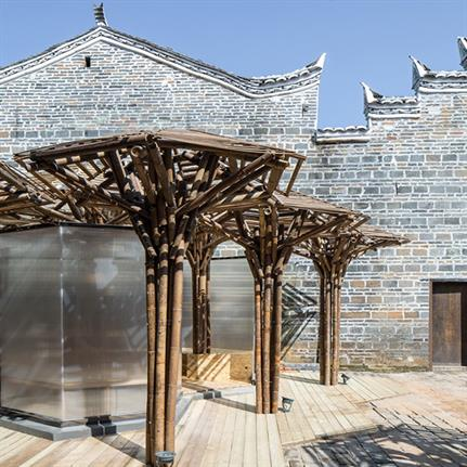 2019 WAN Awards:  Bamboo children activity centre -Zhanghaiao