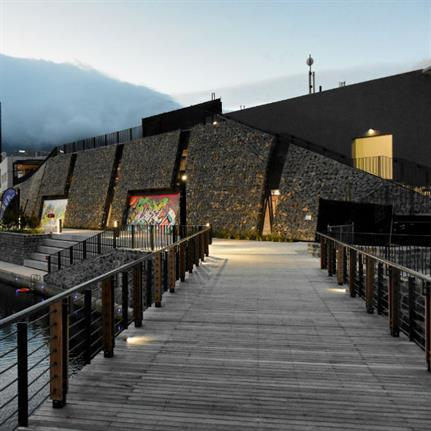 dhk fortifies landscape in Cape Town
