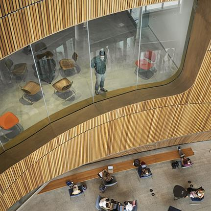 2020 WIN Awards entry: Charles Library at Temple University - Stantec   Snøhetta - Joint Venture