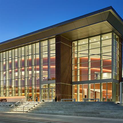 2021 WAN Awards entry: McKnight Center for the Performing Arts at Oklahoma State University - Beck Design