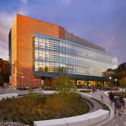 2020 WAN Awards entry: Interdisciplinary Life Sciences Building | University of Maryland Baltimore County - Ballinger