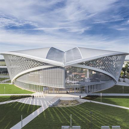 2020 WAN Awards entry: Mori Hosseini Student Union | Embry-Riddle Aeronautical University - ikon.5 architects