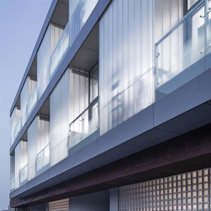 2020 WAN Awards entry: International depart-ment of Beijing pri-vate JunYi middle school - EDO Architects