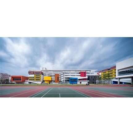 2020 WAN Awards entry: Longyuan School affiliated to Central China Normal University - AAO-ZHUBO DESIGN
