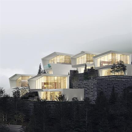 2019 WAN Awards:  Cliff Hotel of XiaoZhou Mountain - GWP Architects