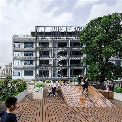 2019 WAN Awards: The Planting Terrace and The Experience Pavilion - Mozhao Architects