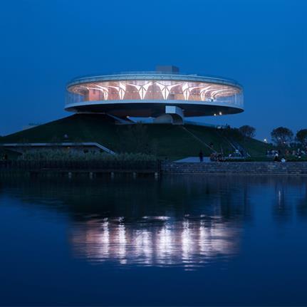 2020 WAN Awards entry: City Crown - The Dragon Lake Public Art Center - Studio A+