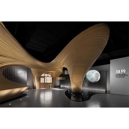 2021 WIN Awards entry: Cave Dwelling Shall Predict the Future-Hall for Passive House Experience - TOWOdesign