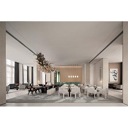 2021 WIN Awards entry: Weinan VANKE TOWN Sales Center - ONE-CU Interior Design Lab
