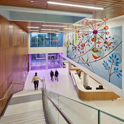 2021 WAN Awards entry: The Centre for Addiction and Mental Health (CAMH) | Phase 1C Redevelopment - Stantec Architecture Ltd.