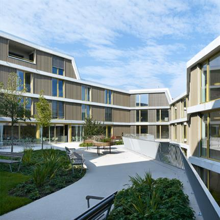 2020 WAN Awards entry: Nursing Home and Care Centre Weiermatt - Bauart Architects and Planners Ltd