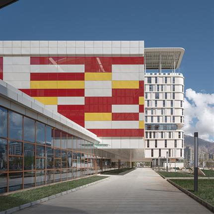 2020 WAN Awards entry: A Marvelous Tibet Woman's and Children's Hospital - BAZUO Architecture Studio Co., Ltd.