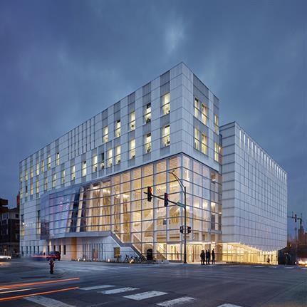 Winner spotlight: The Voxman Music Building