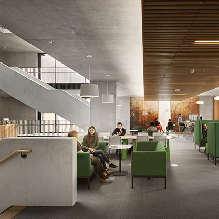 2021 WIN Awards entry: Student Centre, University College London - BDP