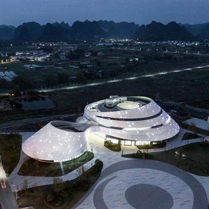 2021 WAN Awards entry: Liuzhou Luosifen Urban Pavilion - UNO Architects