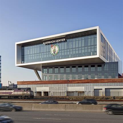 2020 WAN Awards entry: Auerbach Center at Boston Landing - Elkus Manfredi Architects