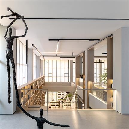 2019 WIN Awards: Endless Blue Life Hall - G&K International Design Institution