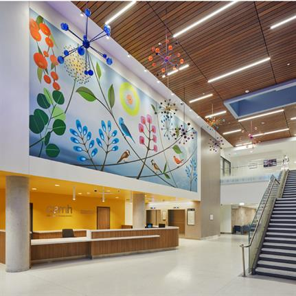 2021 WIN Awards entry: The Centre for Addiction and Mental Health (CAMH) | Phase 1C Redevelopment - Stantec Architecture Ltd.