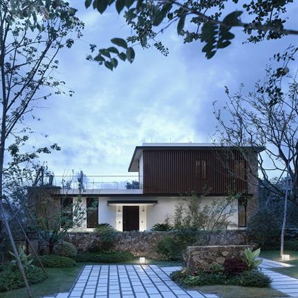 2020 WAN Awards entry: Peach Blossom Future Villa (Phase 1) - Bluetown Architects