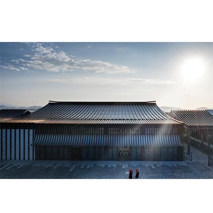 2021 WAN Awards entry: Putuo Mountain New Passenger Transportation Center - The Architectural Design & Research Institute of Zhejiang University Co., Ltd