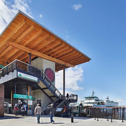 2021 WAN Awards entry: Mukilteo Multimodal Ferry Terminal - LMN Architects