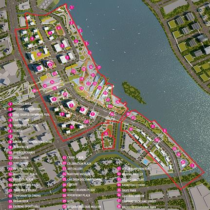 2019 WAN Awards:  Guangzhou Shipyard Master Plan - SPARK