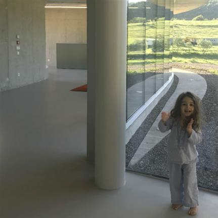Curving concrete woos young people
