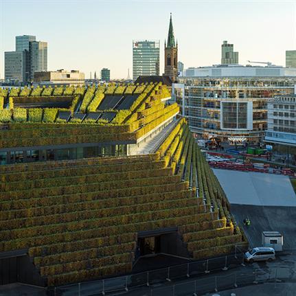2021 WAN Awards entry: Kö-Bogen II - ingenhoven architects