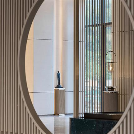 2021 WIN Awards entry: Huizhou Bay Resort Club · Perform natural sounds with warmth - Mercer Design