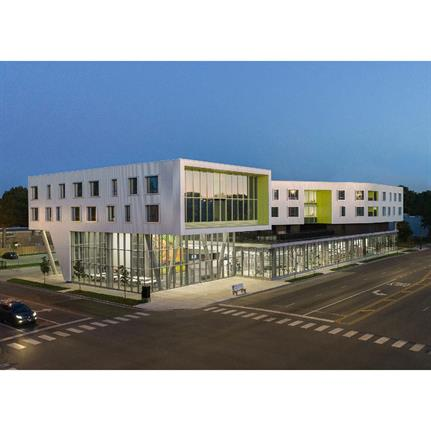 2020 WAN Awards entry: Northtown Affordable Apartments and Public Library - Perkins and Will