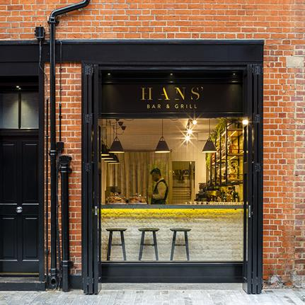 2019 WIN Awards:  Hans' Bar & Grill - Goddard Littlefair